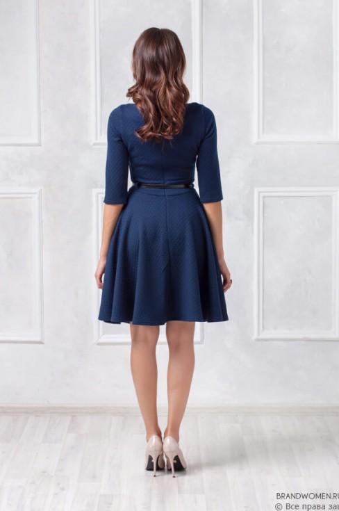 Платье-мини с ремешком