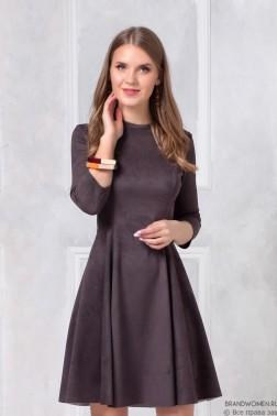 Двустороннее платье-мини с пышной юбкой