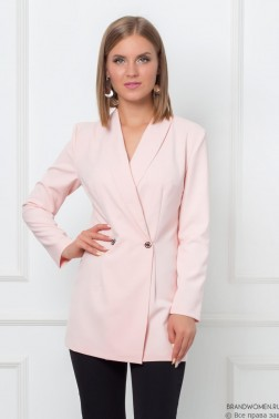 Комплект из брюк и пиджака с поясом