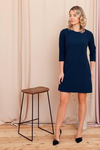 Платье-мини А-силуэта