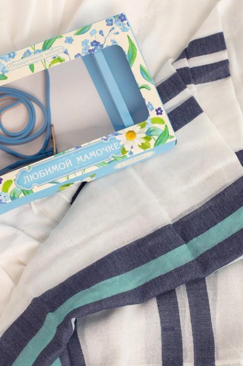 Подарочный набор: шарф, ремень