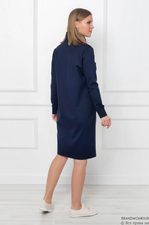 Платье-худи с карманами