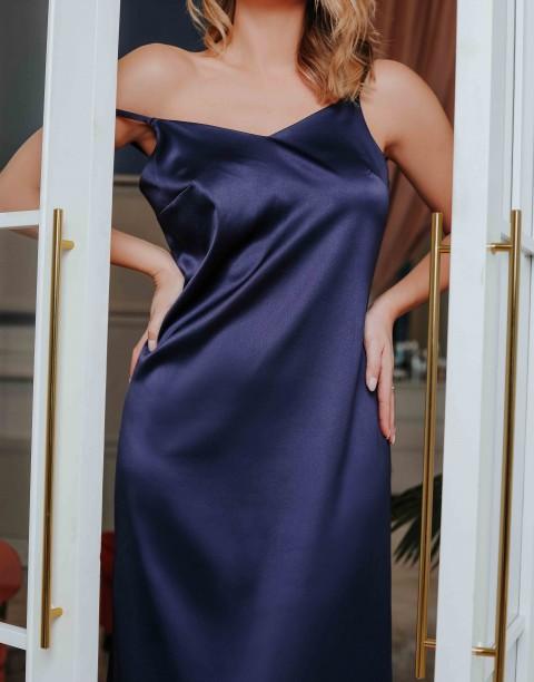 Платье-комбинация длины макси