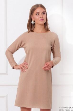 Платье-мини с V-образным вырезом на спине