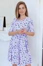 Платье-мини с рукавом 3/4 на резинке