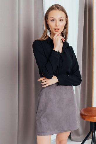 Блузка на пуговицах с длинными рукавами