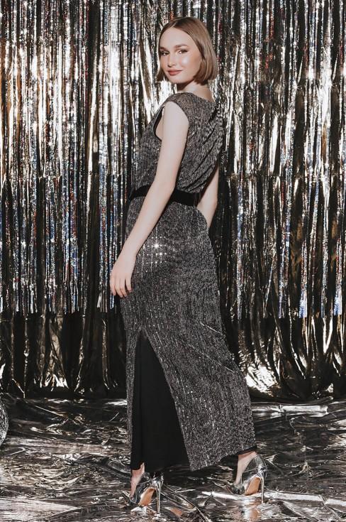 Платье-макси в стиле