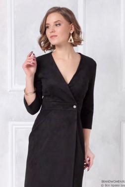 Платье-мини с запахом