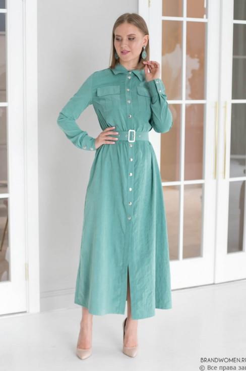 Платье на кнопках Lilya Sidorova-BRANDWOMEN