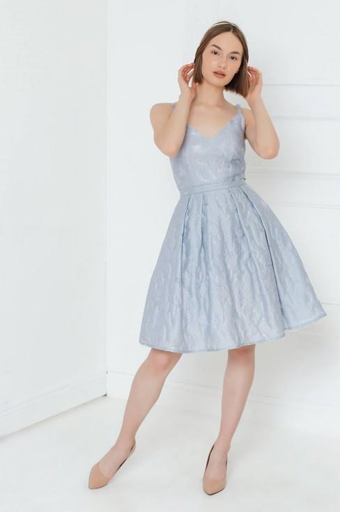 Платье-сарафан длины мини
