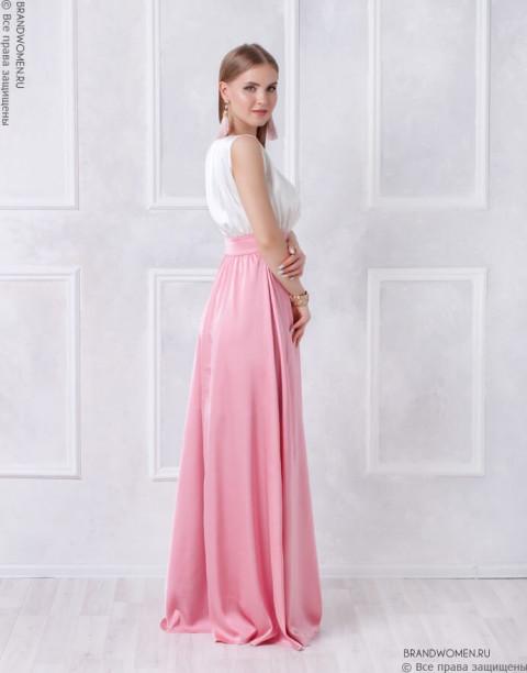 Платье в пол со свободным топом