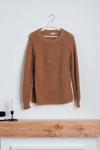 Джемпер из вязаного трикотажа