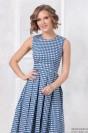 Платье-миди с принтом и карманами