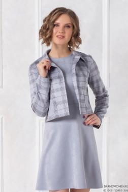 Комплект из платья с жакетом