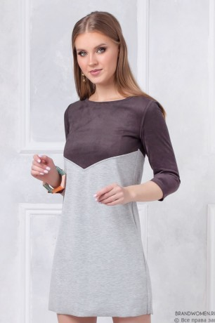 Двустороннее платье длины мини