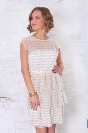 "Платье-мини в стиле ""Гэтсби"""