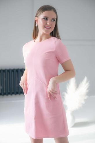 Платье-мини с необычными карманами