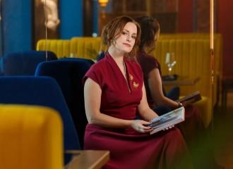 Писатель Марина Генцарь Осипова выбрала наше платье для презентации своей книги
