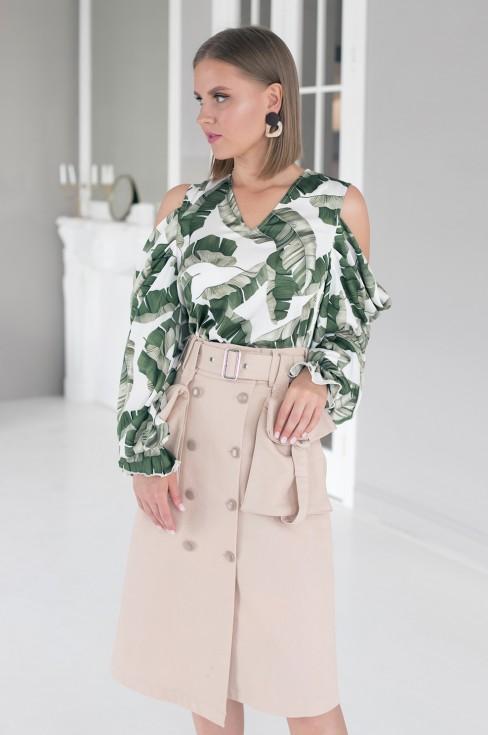 Юбка с карманами Lilya Sidorova-BRANDWOMEN